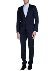 Boss Black Suits Dark Blue