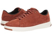 Cole Haan Grandpro Tennis Brandy Brown Milled Nubuck Optic White Shoes