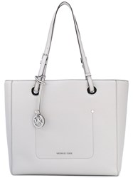 Michael Michael Kors Long Top Straps Tote Women Leather One Size Grey