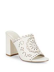Joie Laban Shell Leather Mules