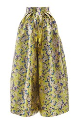 Delpozo Floral Wide Legged Trousers Print
