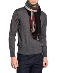Bally Trainspotting Wool Scarf Black
