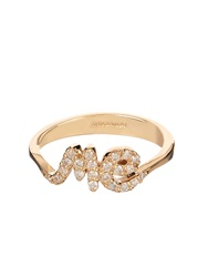 Alison Lou Diamond And Yellow Gold 'Me' Ring