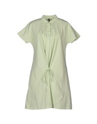 Manila Grace Short Dresses Light Green