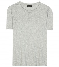 The Row Wesler Cotton T Shirt Grey