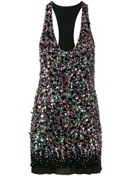 Haider Ackermann Sequin Embellished Sleeveless Top Black