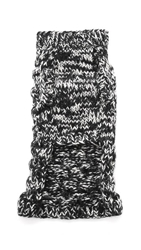 Ware Of The Dog Cable Pullover Sweater Black White