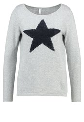 Soyaconcept Juvel Jumper Light Grey Melange