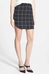 Trouve Pull On Skirt Black