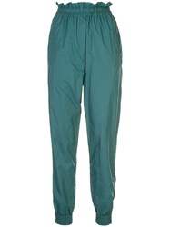 Tibi Jogger Tapered Trousers Green