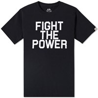 Head Porter Plus Fight The Power Tee Black