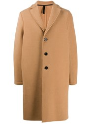 Harris Wharf London Single Breasted Midi Coat 60
