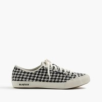 J.Crew Seavees For 06 67 Monterey Sneakers In Houndstooth Black White