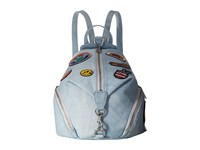 Rebecca Minkoff Medium Julian Backpack Light Denim Backpack Bags Blue