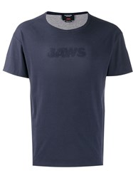 Calvin Klein 205W39nyc 'Jaws' T Shirt Blue