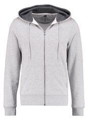 New Balance Tracksuit Top Athletic Grey