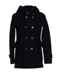 Roy Rogers Roy Roger's Coats And Jackets Coats Men Dark Blue