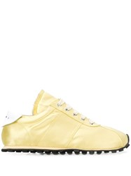 Marni Low Top Sneakers Yellow