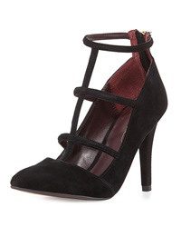 Report Signature Daycee Suede Pump Black