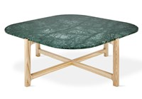 Gus Design Group Quarry Coffee Table Verde Marble