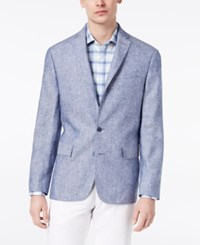 Ryan Seacrest Distinction Men's Modern Fit Solid Sport Coat Created For Macy's Light Blue