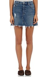 Grlfrnd Women's Eva Short A Line Skirt Blue