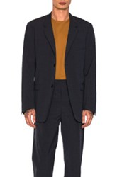 Christophe Lemaire Soft Jacket In Blue