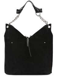 Jimmy Choo Raven Shoulder Bag Black