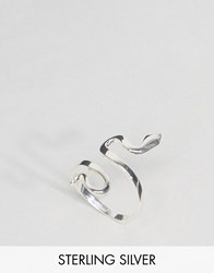 Liars And Lovers Sterling Silver Snake Ring Silver