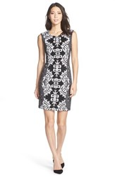 Women's Nydj Mirror Print Knit Sheath Dress
