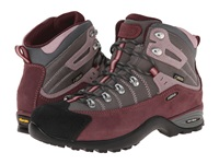 Asolo Mustang Gv Burgundy Stone Women's Hiking Boots Gray