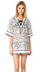 Parker Palmyra Cover Up Black White