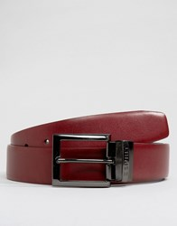 Esprit Leather Belt Reversible Black