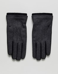 Selected Homme Simon Gloves Grey