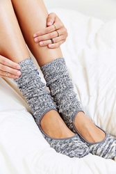 Urban Outfitters Yoga Slouch Crew Sock Grey