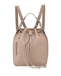 Time's Arrow Lida Urban Leather Backpack Taupe