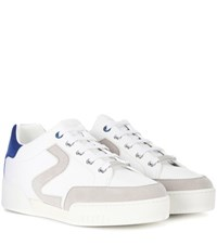 Stella Mccartney Faux Leather Sneakers White