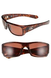 Men's Kaenon 'Pintail' 55Mm Polarized Sunglasses Tortoise Copper C12