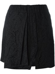 N 21 Nao21 Layered Mini Skirt Black