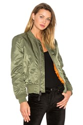Alpha Industries Ma 1 W Bomber Green