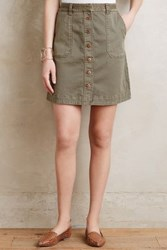 Anthropologie Pilcro Chino Skirt Moss 2 Skirts