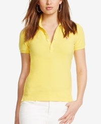 Polo Ralph Lauren Skinny Stretch Polo Shirt Sunfish Yellow