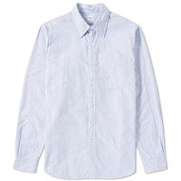 Rough And Tumble Reverse Shirt Blue