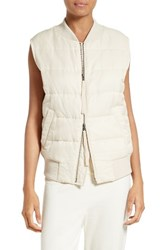 Vince Women's Quilted Bomber Vest