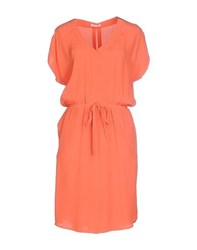 Just In Case Dresses Short Dresses Women Orange