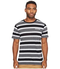 Converse Engineered Stripe Tee Black White Multi Men's T Shirt