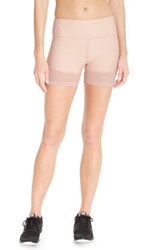 Women's Free People 'Hot Trot' Mesh Inset Shorts