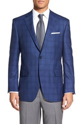 Men's Peter Millar 'Flynn' Classic Fit Plaid Wool Sport Coat