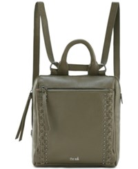 The Sak Loyola Convertible Small Backpack Sage Silver