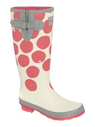 Radley Spot On Long Wellie Boot Pink